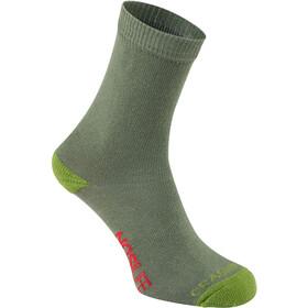 Craghoppers NosiLife Travel Socks Single Kids dark khaki